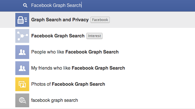 Utilizing the New Facebook Graph Search