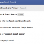Utilising the New Facebook Graph Search