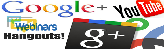 Free Webinars and YouTube Videos Using Google Hangouts!